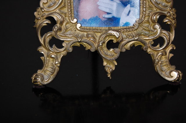 Pair of Sculpted Bronze Picture Frames