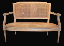 Early 19th Century French Painted Settee