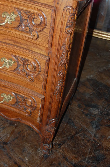 19th Century French Oak Commode