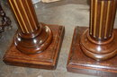 Pair of 19th Century French Walnut Pedestals