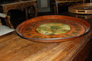 19th Century French Painted Tole Tray