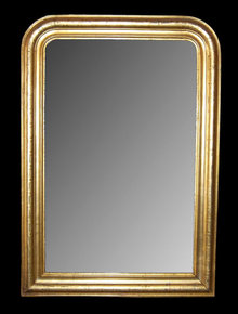 19th Century French Louis Philippe Mirror