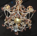 Adorable Early 20th Century French Crystal Chandelier