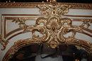 Superb Louis XV Style Giltwood Mirror