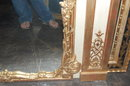 Superb Louis XV Style Giltwood Mirror