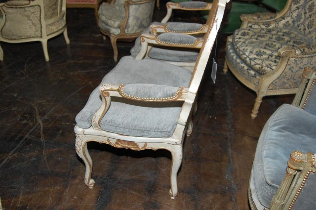Pair of French Regence` Armchairs