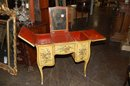 Petite French Painted Ladies Vanity
