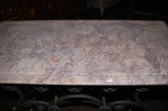 Marble Top Butcher's Table