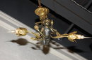 Whimsical French Cherub Chandelier