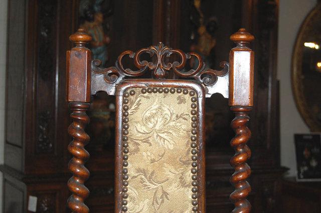 Victorian Walnut Child's Chair