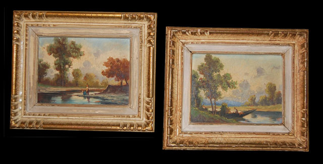 Pair of Landscape Paintings