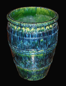French Glazed Pot
