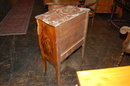 French Bombe Inlaid Commode