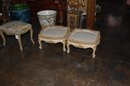 Pair of French Foot Stools