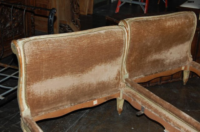 Pair of French Louis XV Day Beds