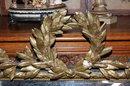 French Napoleon III Cushion Mirror
