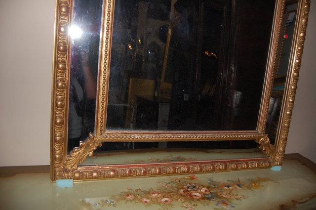 French Napoleon III Mirror