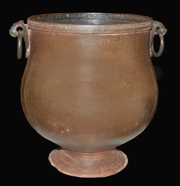 Antique Indian Copper Water Pot