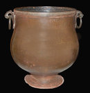 Antique Indian Copper Water Pot