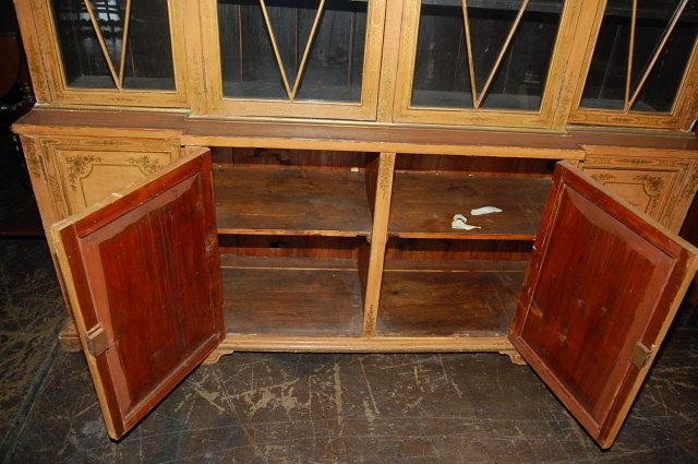 19th Century English Chinoiserie Cabinet