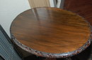 Italian Carved Mahogany Side Table