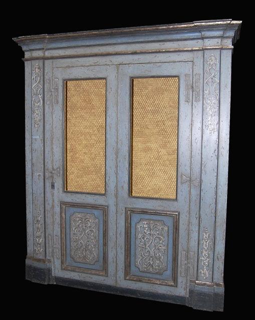 Custom Italian Style Bookcase