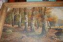 19th Century English Landscape Painting, B. Lambert