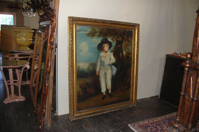 Large 19th Century English Portrait