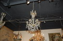 French Antique Gilt & Brass Chandelier