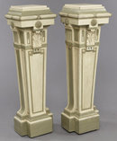 Pair Louis XVI Painted Pedestals