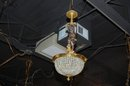 Crystal Cherub Chandelier