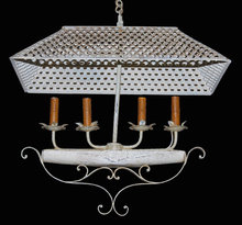 Unusual Iron Chandelier