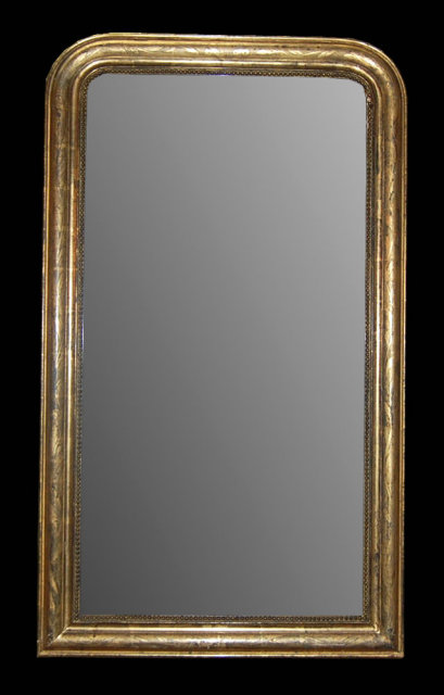Gold Louis Philippe Mirror