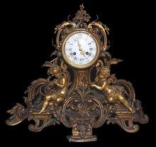 Ornate French Clock