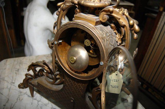 Ornate French Clock