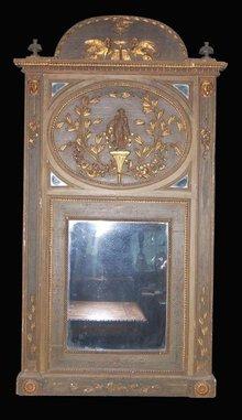 Italian Trumeau Mirror