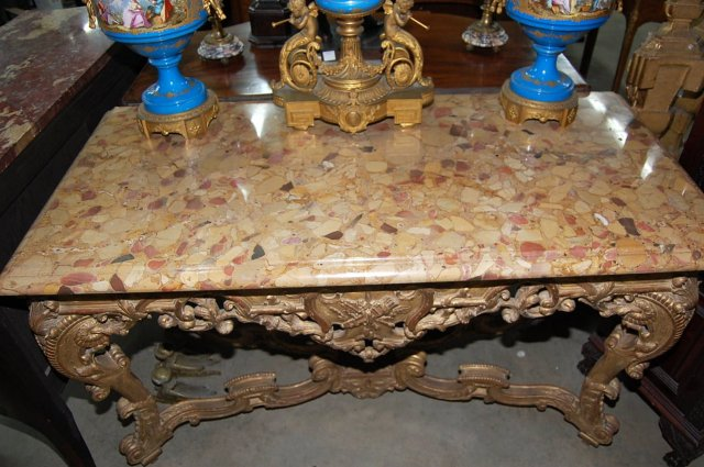 French Giltwood Console