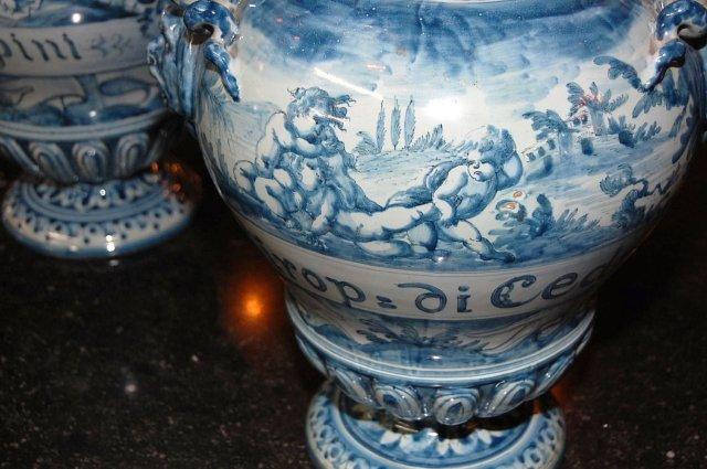 Italian Faience Vases