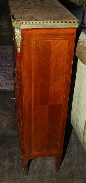 French Transitional Lacquered Cabinet