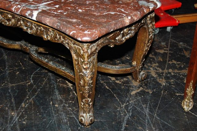 French Louis XV Low Table
