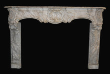 18th Century French Louis XV Marble Mantel