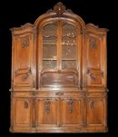 Massive Country French Cabinet