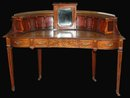 English Inlaid Vanity Desk