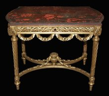 Chinoiserie Center Table