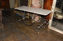 French Antique Baker's Table