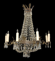 French Basket Chandelier