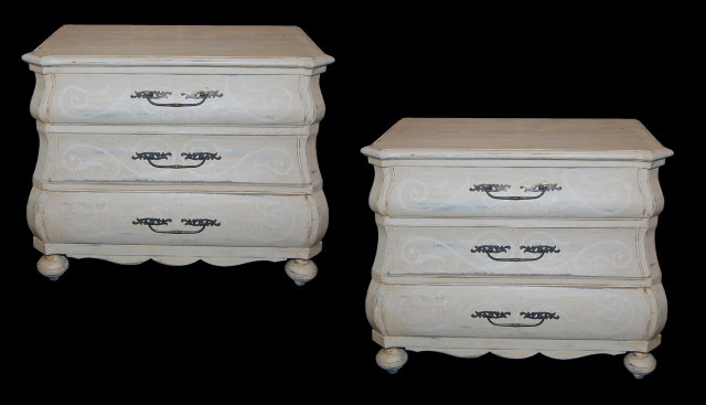 Pair of Dutch Painted Chests