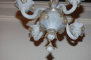 Petite Venetian Glass Chandelier