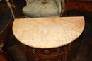 Pair French Parquetry Nightstands