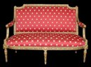 French Louis XVI Settee